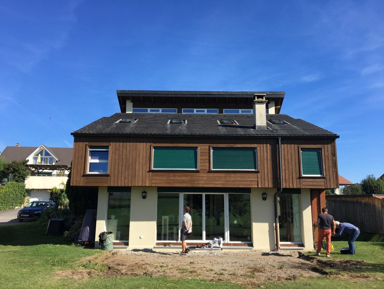 Agrandissement aubert construction bois for Agrandissement maison individuelle