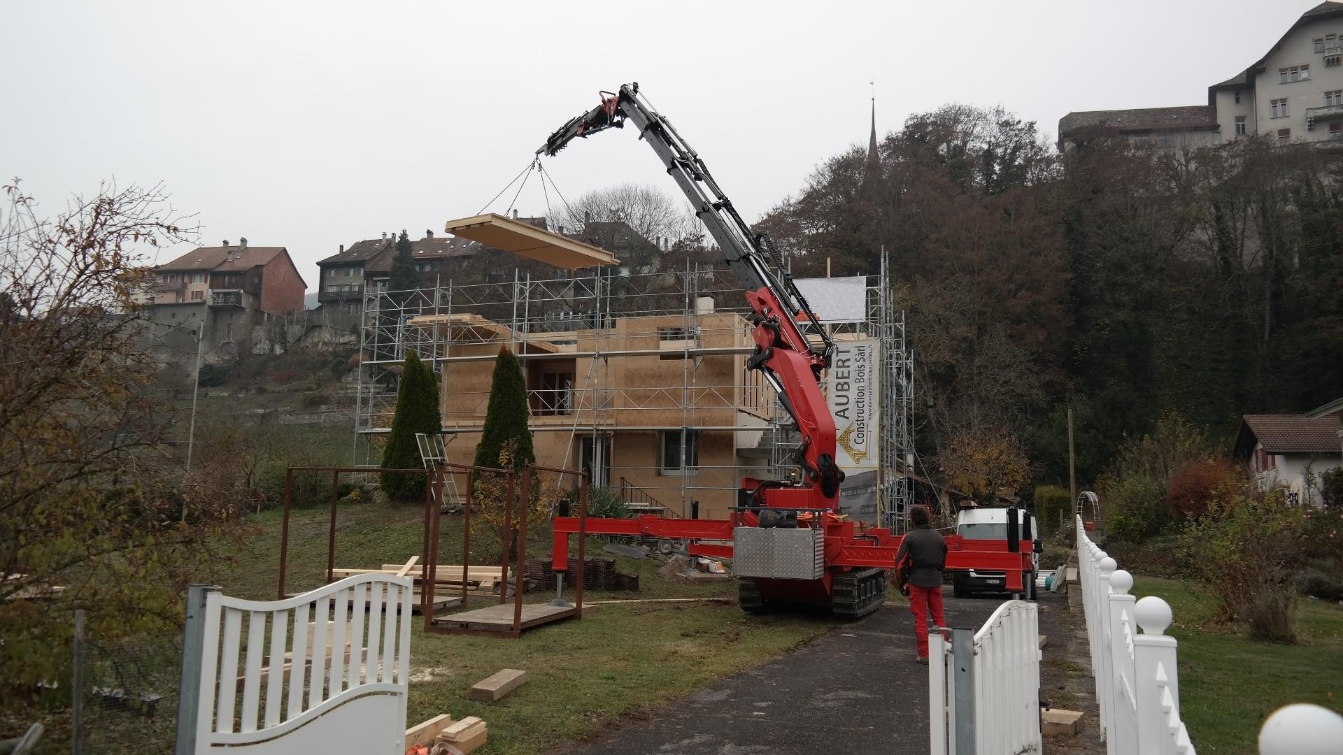 Aubert construction bois for Construction bois 21